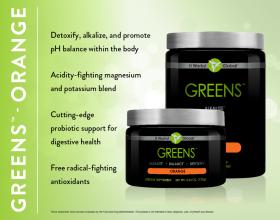 Greens - Orange