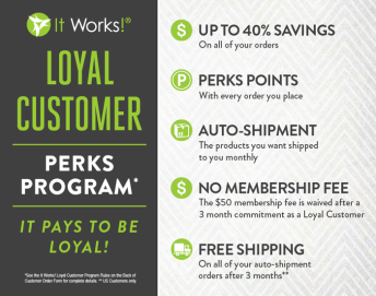 Loyal Customer - Perks Program